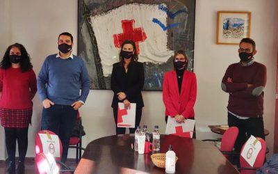 Cruz Roja de Lleida firma un convenio de colaboración con Farmactiva