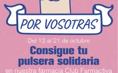 Club Farmactiva se tiñe de rosa un año más con la campaña ¡Por Vosotras!