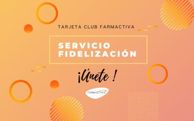 Tarjeta Club Farmactiva: tu servicio de fidelización