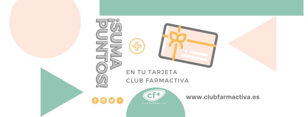 Actualiza tus datos y gana 25 puntos gratis en tu tarjeta Club Farmactiva
