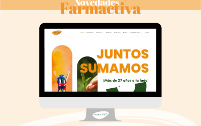 Farmactiva renueva su imagen estrenando página web