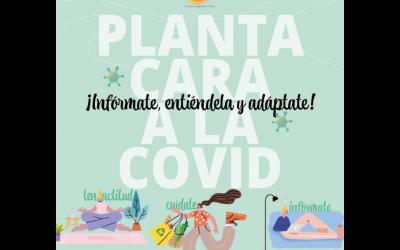 Planta cara a la COVID-19: infórmate, entiéndelo y adáptate
