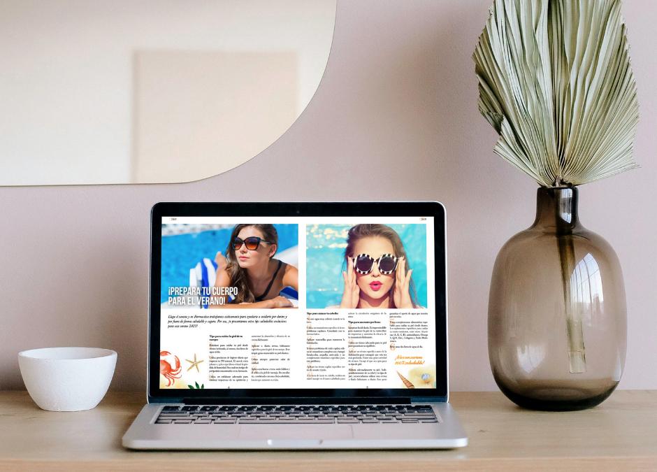 Para vivir un verano con salud, ¡no te pierdas la nueva edición de la revista de Club Farmactiva!